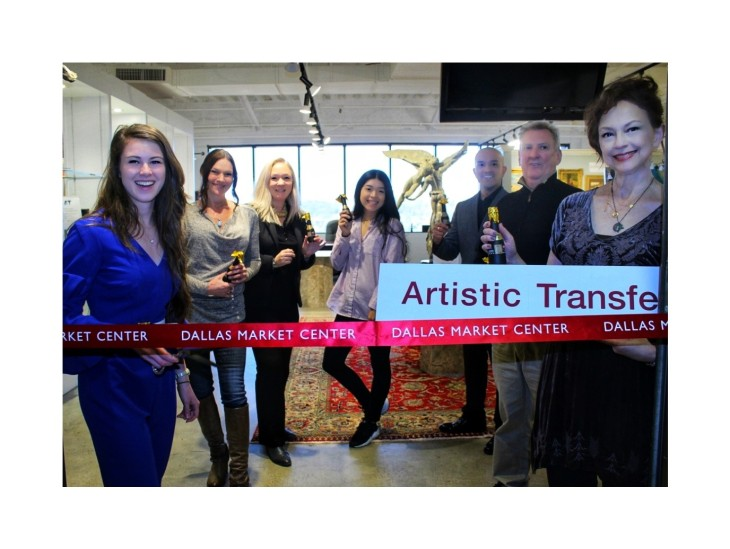 Artistic Transfer ribbon cutting at the World Trade Center!